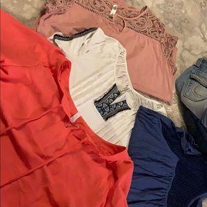 Large-ladies  shirt bundle